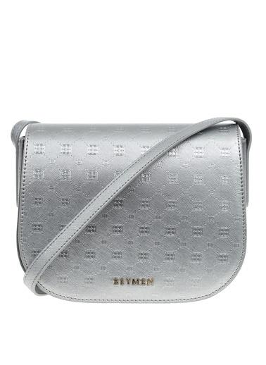 Beymen Messenger / Askılı Çanta Gümüş